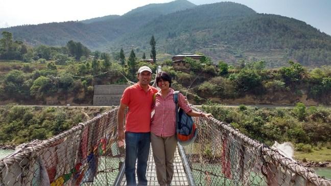 Bhutan Tourism, Punakha Dzong, Bhutan Dzong, Places to visit in Bhutan, Things to do in Bhutan, Punakha beauty, Spring beauty, Suspension bridge