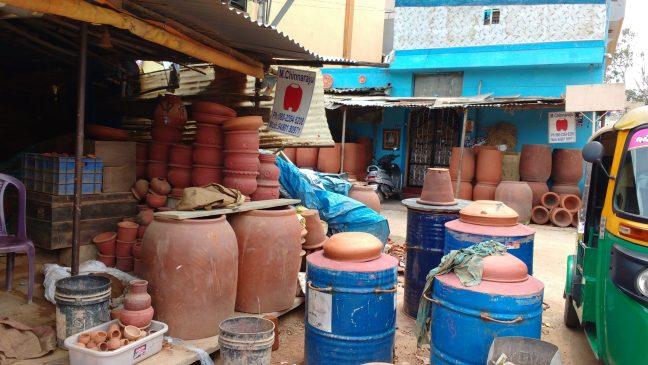 Potter's town/Pottery Lane in Bangalore, Pottery Town, Buy pottery in Bangalore, Eco friendly, Terracotta, Mitti ke gamle in Bangalore, Offbeat places to visit in Bangalore, Bangalore Tourism