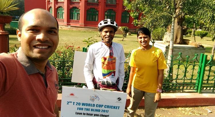 Binay Kumar Sahu - Indian Cyclist - Photo Story