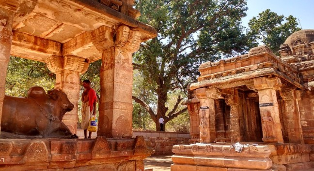 Inside Mahakuta Temples, Badami Cave Temples: Badami - Aihole - Pattadakal Temple circuit