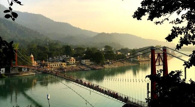 top most popular Things to do in Rishikesh, Uttarakhand- Explore hiking in and around Rishikesh, Rafting, Bungee Jumping - Ram Jhula and Lakshman jhula Sunrise