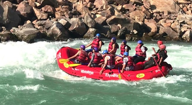 Adventurous Ganges White Water Rafting in Rishikesh, Uttarakhand