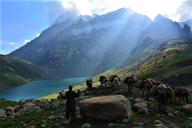 Satsar Lakes to Gangabal and Nandakol Lakes (Harmukh Peak) - Kashmir Great Lakes Trek is one of the most beautiful treks in India -Indiahikes