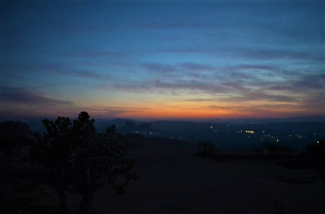Sunrise - Night Trek at Ramanagara Bangalore