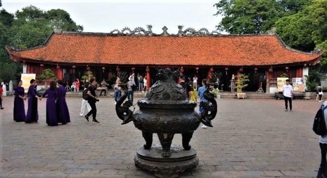 Temple of Confucius at Hanoi Vietnam