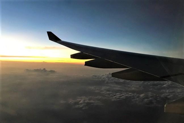Flight to Hanoi, Vietnam - A backpacking Trip