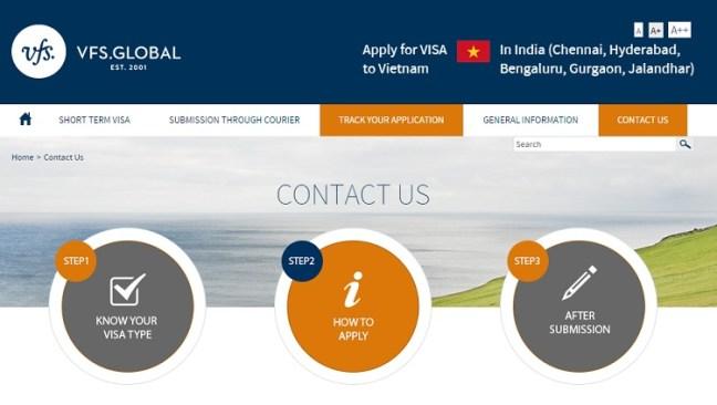 VFS Global - Application Center for applying Vietnam Visa from India