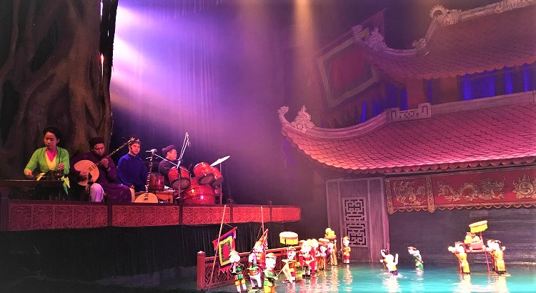 Hanoi Water Puppet Show at Municipal Water Puppet Theater (Also known as Thang Long Water Puppet Theater Hanoi)