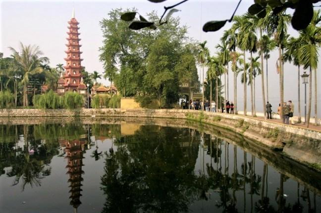 Go for a Walk or Run around Hanoi West Lake