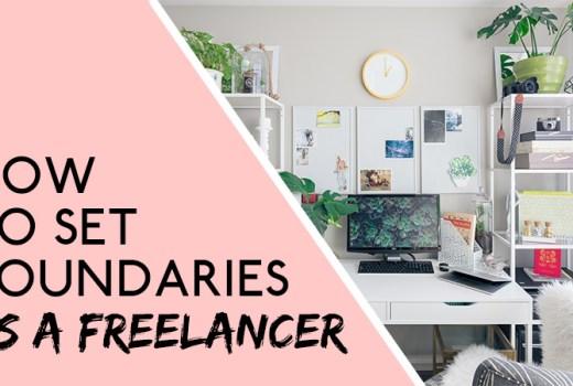 set boundaries as a freelancer