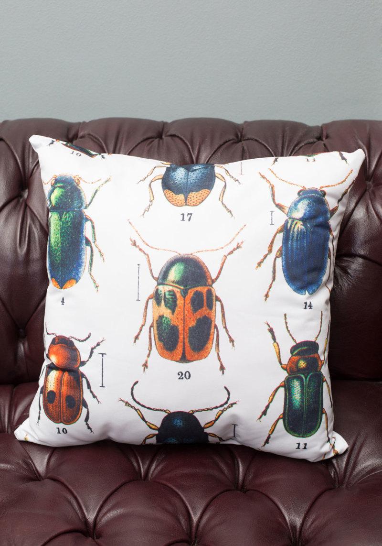 Let it beetle pillow