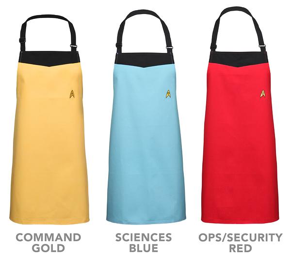 Star Trek Starfleet Uniform Apron -- $25