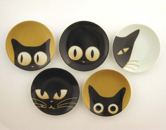 Cat Eyes Small Dishes Set of 5, $58.14