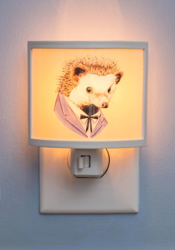 For your midnight trips to the bathroom without any stumbles: Dress Sharp Night Light -- $19.99