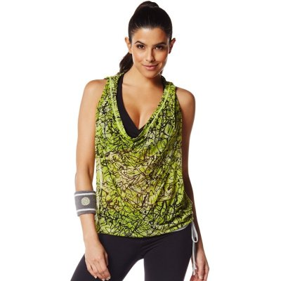 This zumba top could totally do double duty for any of your other fitness routines.