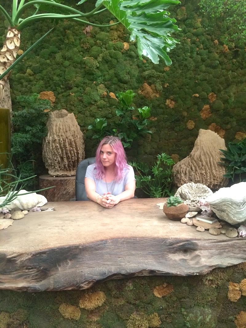 little mermaid desk