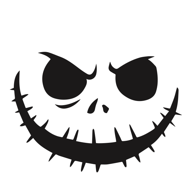 nightmare before christmas pumpkin face