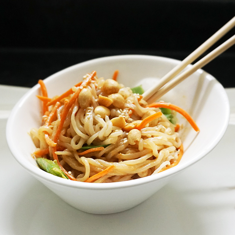 Easy vegan noodles and soups as seen on @offbeathome #vegan #asian #recipes