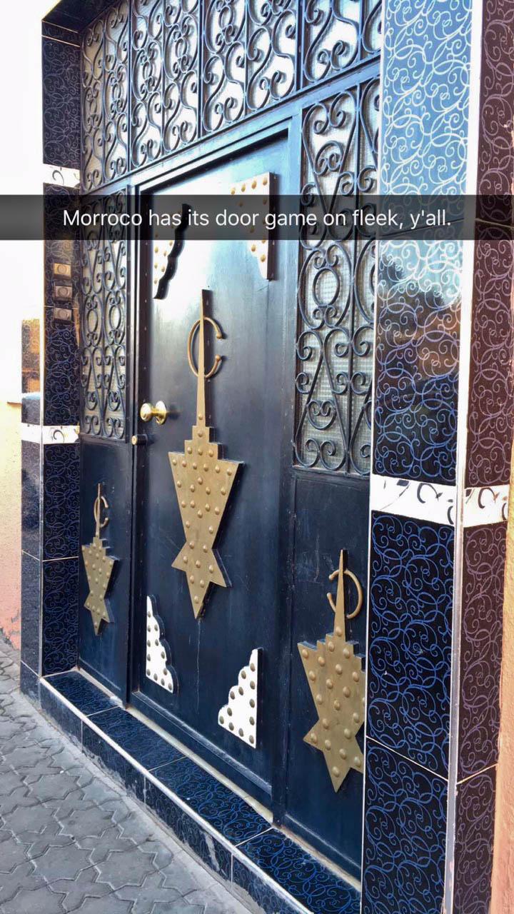 The doors in Morroco are on fleek