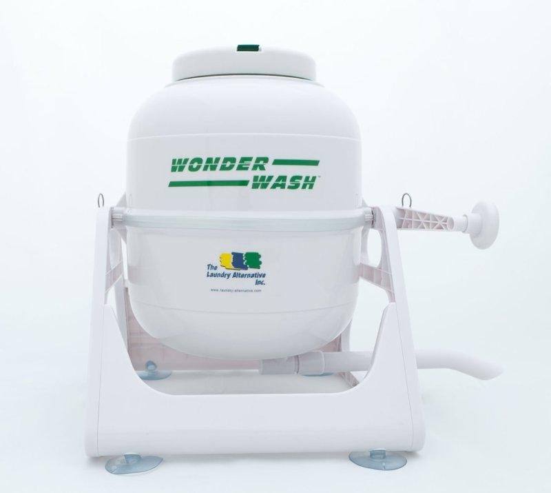 Wonder Wash hand-cranked washing machine