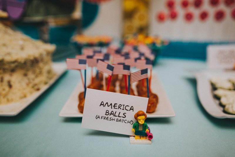 America Balls (a fresh batch!)