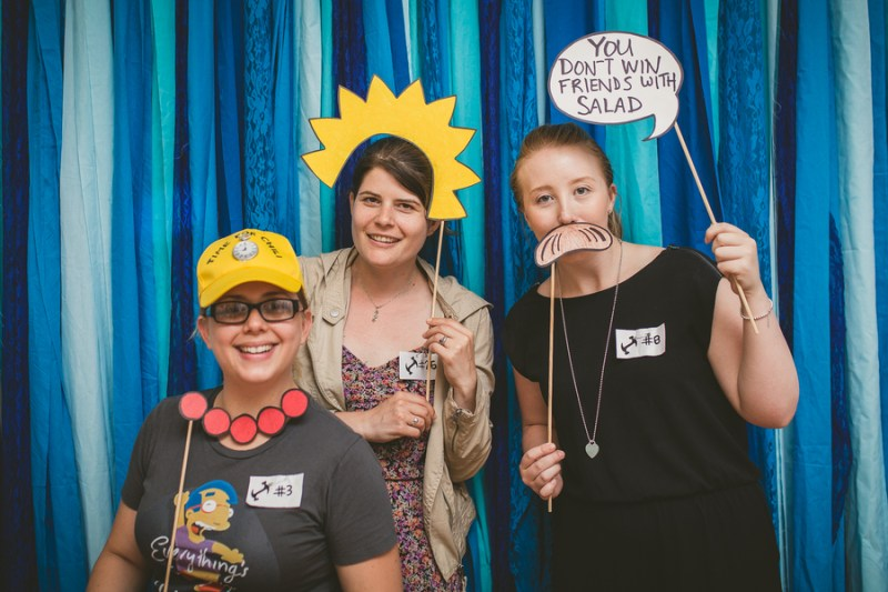 simpsons photo booth props 2