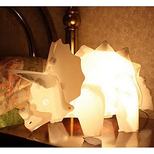 Triceratops lamp that you can draw on!