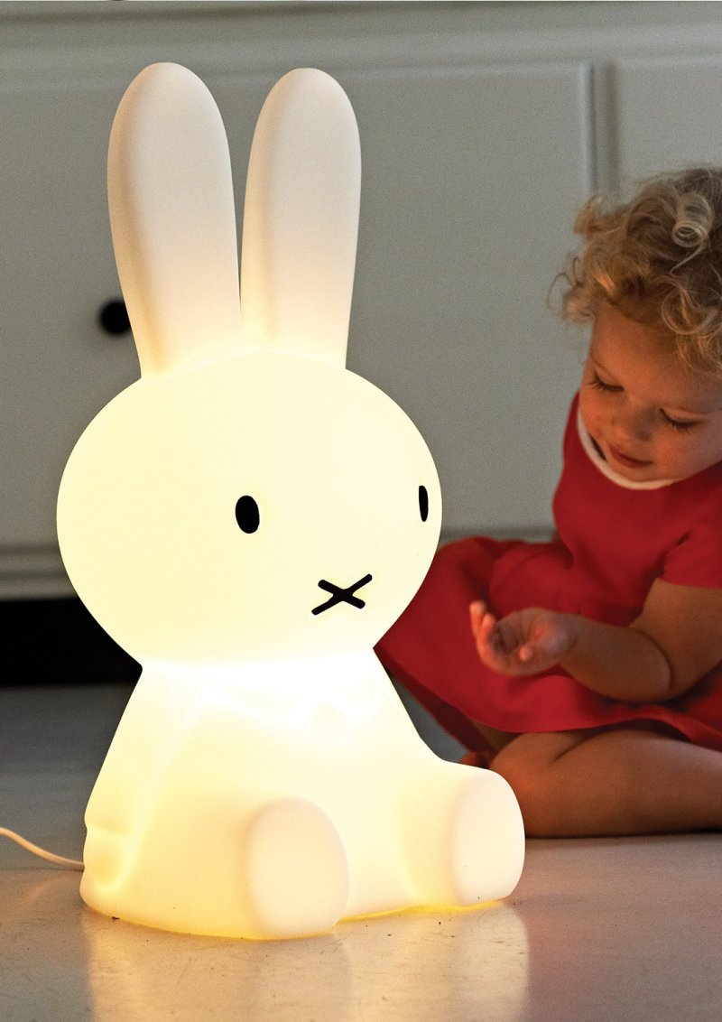 Giant dimmable bunny lamp!