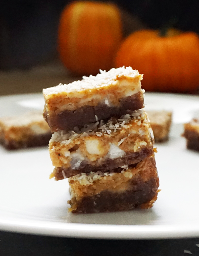 Pumpkin ginger dream bars   fall pumpkin recipes