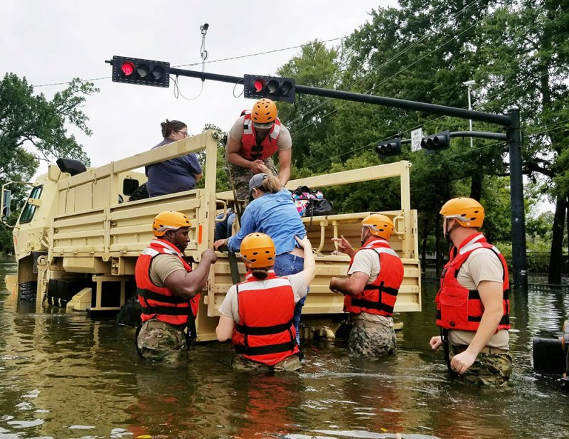 Huge list of places to donate to help Texas during Hurricane Harvey