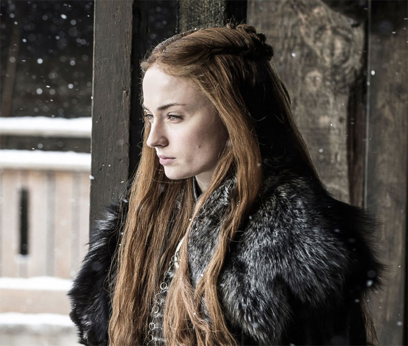 Sansa is a strong character