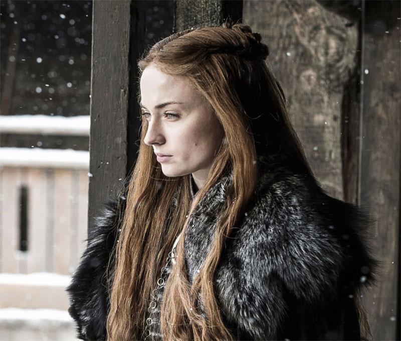 Femininity isn't weakness: Sansa is a strong character