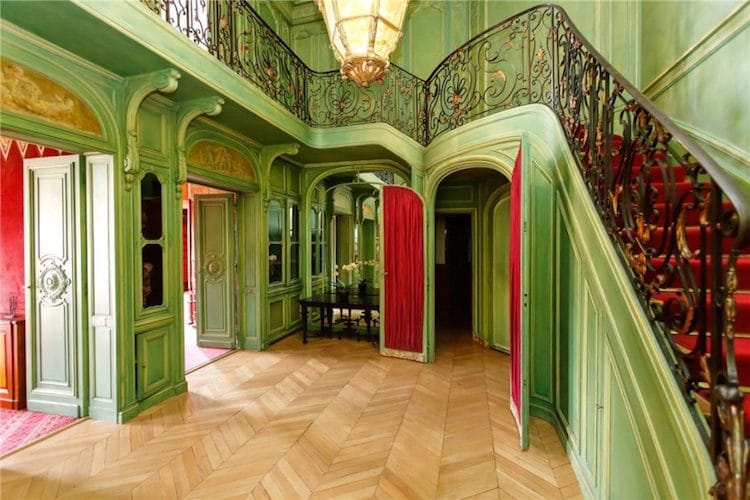 Stylized Paris apartment: Ever wanted to live in a Wes Anderson film? This Paris apartment will let you