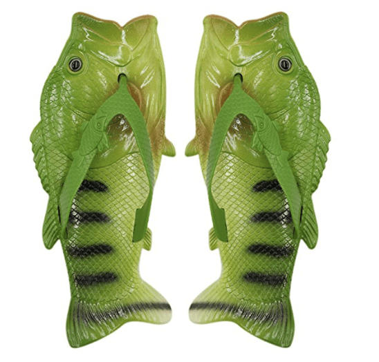 I might just need some of these ultra funny shoes and sandals