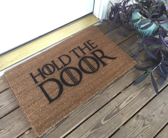 funny welcome mats