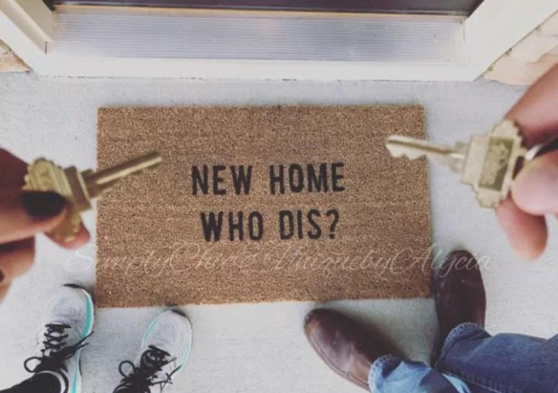 funny welcome doormats
