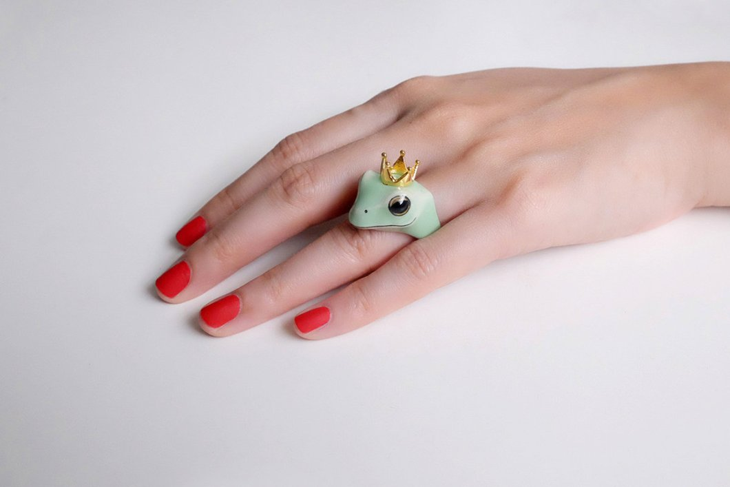 This flora and fauna jewelry will bring out the forest nymph in you