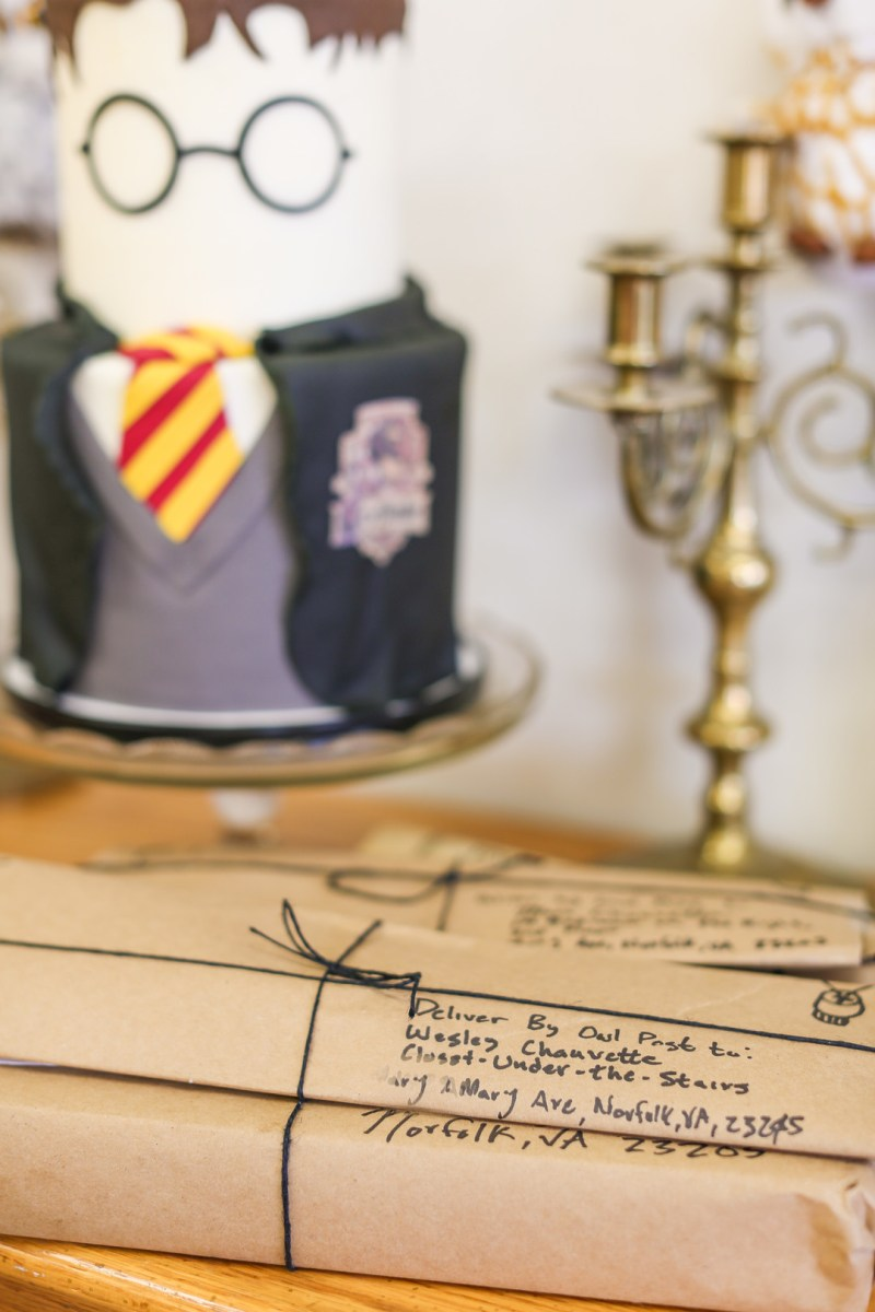 We are STUPEFIED by this Harry Potterphile birthday party with the most magical cake ever