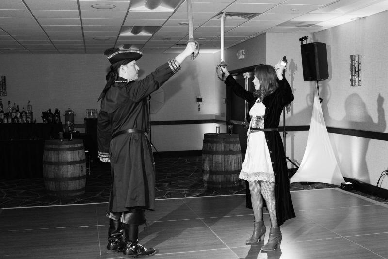 Pirate Party celebrating major life milestones