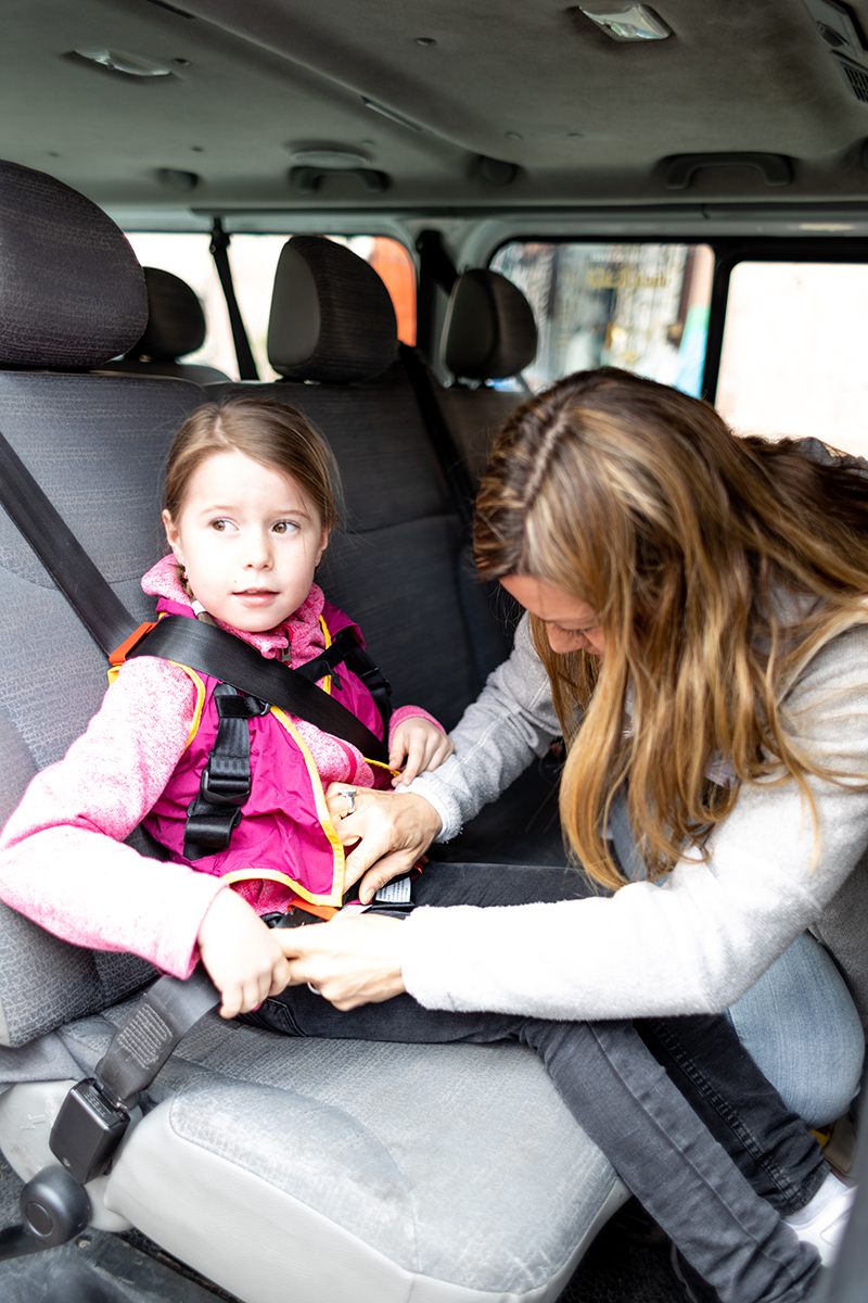 Yep, there's a safe child's car seat that fits in your pocket