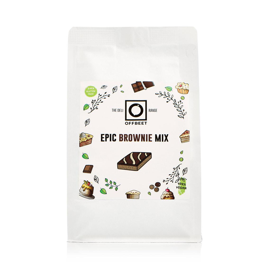 Epic vegan brownie mix