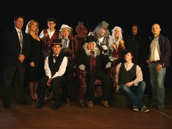 The Cast of Inspectiing Carol