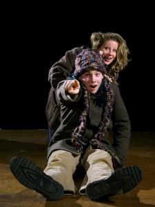 Sarah Harding (Susan Vanech) and Denby (Will Cohn)