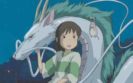 Chihiro, the main character in the film Spirited Away