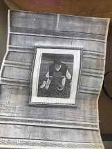 A photocopy of somebody's football picture.