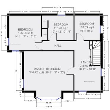 """Second floor """"before"""""""