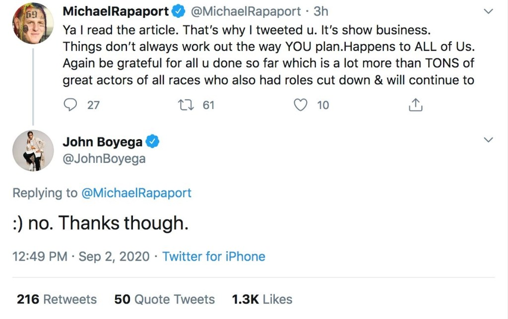 The Power In John Boyega's Rejection Of Being Gracious