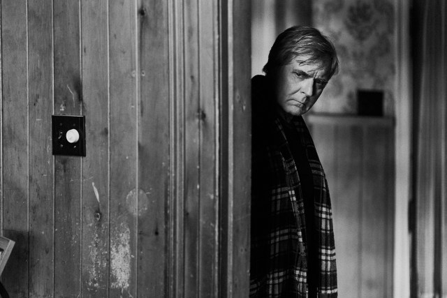 Frederic Mason (Henry Czerny) stands in a doorway in The Righteous