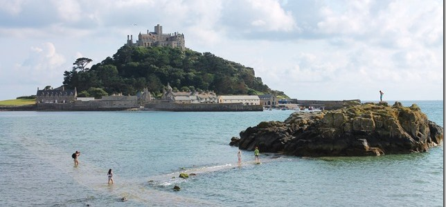 Headlands, Tiny Harbors and Floating Castles in Cornwall