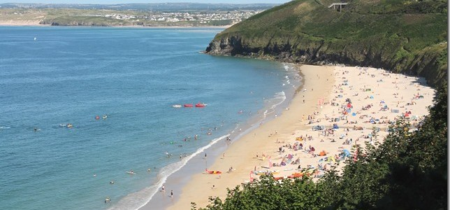 Surfers, Arcades and Turquoise Beaches in Cornwall